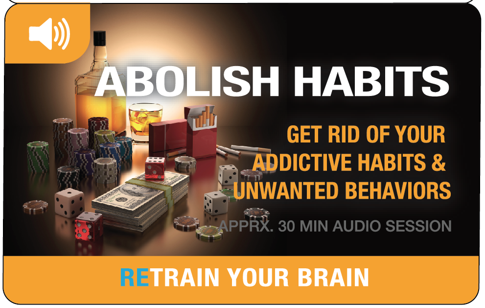 Abolish Bad Habits – Hypnotherapy