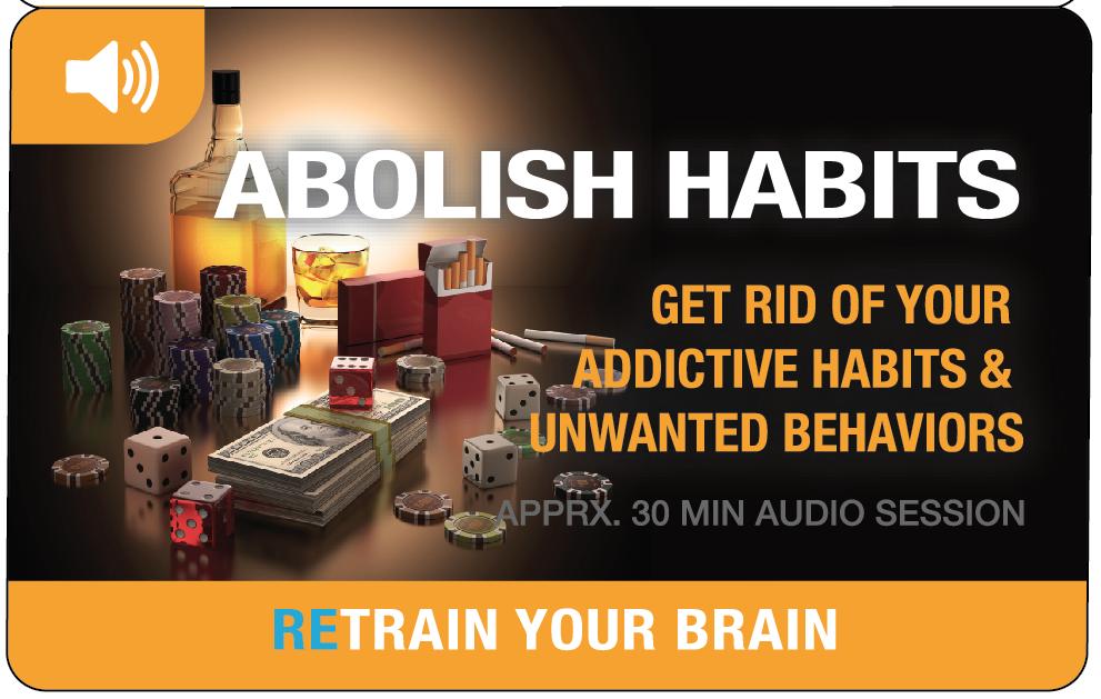 Abolish Bad Habits – Hypnotherapy